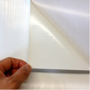 High sticky adhesive self adhesive vinyl film for glass walls 140gsm premium car sticker vinyl sticker paper rolls