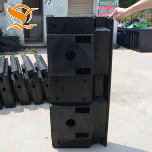 Hot sale railroad rubber rail pad crossing plate supplies in china