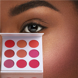 ISO 22716 FDA Private label mineral best pink blush makeup blush