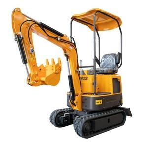 ISO Certification Electric Mini-Excavator Xiniu XN12 Mini Excavator 10kw