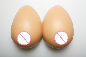 Medical tear drop Rehabilitation mastectomy prosthesis custom cross dresser D cup breast forms silicone boobs for men