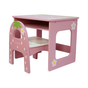 New Design Wooden Children Table And Chair Wooden Furniture Set For Kids