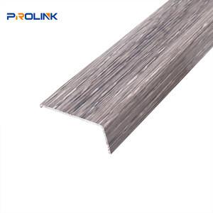 Protective wall outside edge trim wall accessories wood grain aluminum corner guard