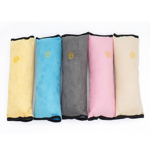 Safety Belt Protector Cushion,Cotton Car Safety Sleep Belt, Car Seat Belt Cover Shoulder Pad Car Seat Belt Pillow Cover
