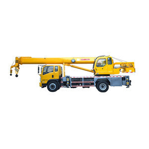 Small 16 ton lifting weight crane truck for sale