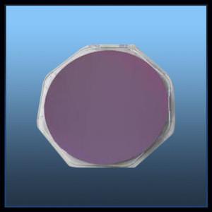 SOI semiconductor wafer (Si + SiO2 + Si)