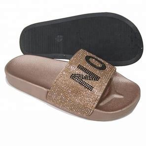 Womens Diamond Custom Slide Slippers For Women