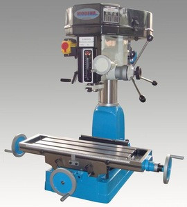 ZX30 China Machinery Hot Sale Mini Drilling Milling Machine with Flexible Workbench